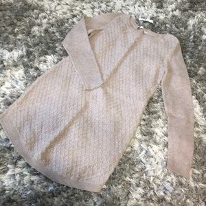 NWT Taupe sweater dress L